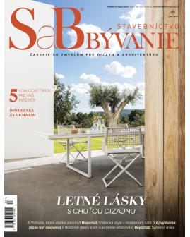 SaB/Stavebníctvo a bývanie júl / august 2020