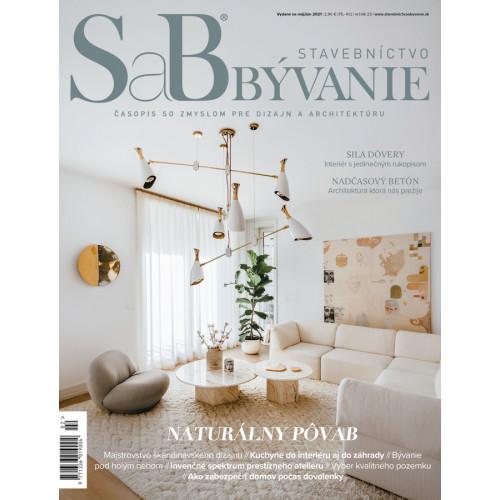 SaB/Stavebníctvo a bývanie máj / jún 2021