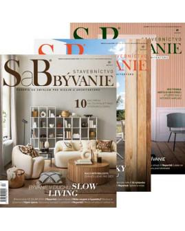 SaB/Stavebníctvo a bývanie - predplatné na rok