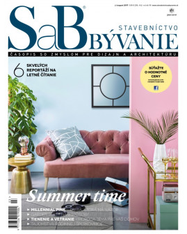 SaB/Stavebníctvo a bývanie júl / august 2017