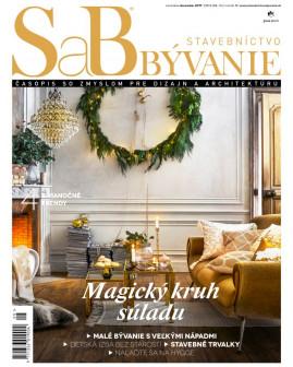 SaB/Stavebníctvo a bývanie november / december 2017