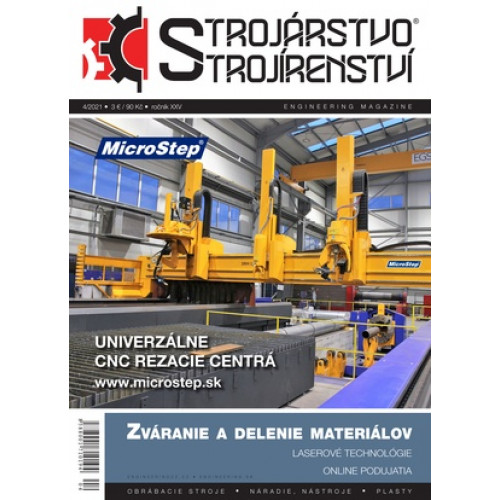 Strojárstvo/Strojírenství 4/2021