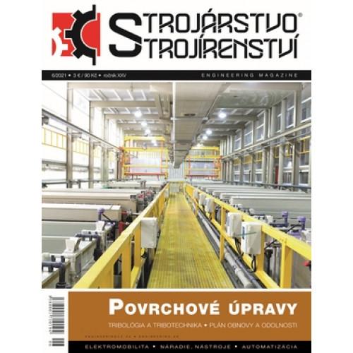 Strojárstvo/Strojírenství 6/2021