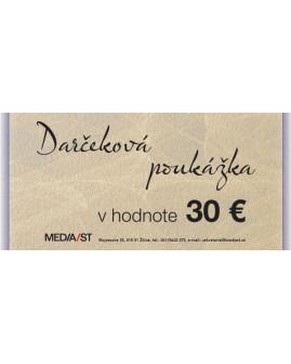 Darčeková poukážka 30 Eur