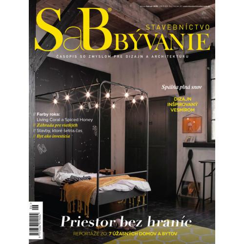 SaB/Stavebníctvo a bývanie január / február 2019