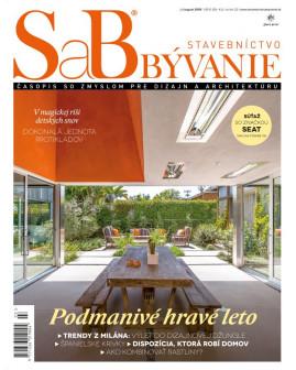 SaB/Stavebníctvo a bývanie júl / august 2018