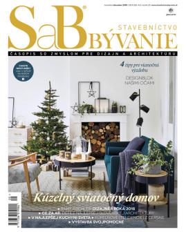 SaB/Stavebníctvo a bývanie november / december 2018
