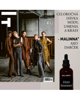 Top Fashion predplatné na rok (4 ks) + darček MALINNA° Elixir Rosemary